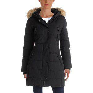 Guess winter jacket faux fur hood